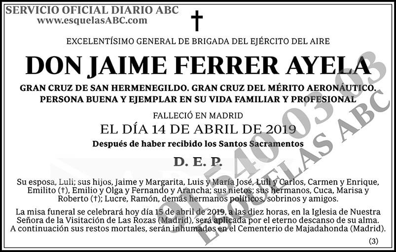 Jaime Ferrer Ayela