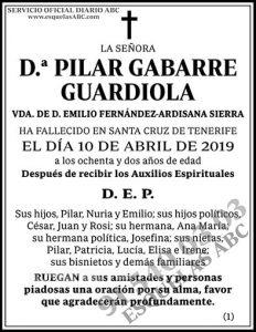 Pilar Gabarre Guardiola