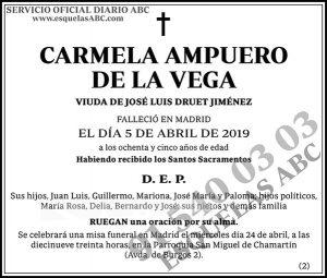 Carmela Ampuero de la Vega