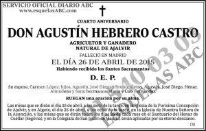 Agustín Hebrero Castro