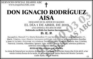 Ignacio Rodríguez Aisa
