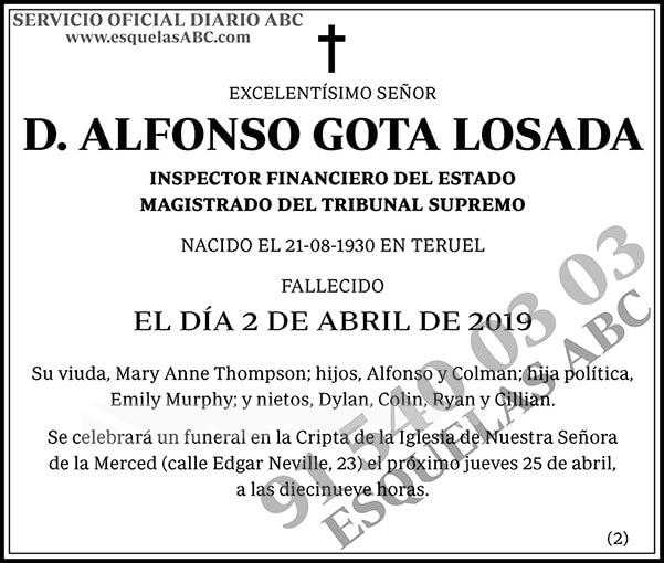 Alfonso Gota Losada