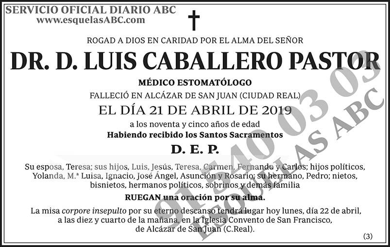 Luis Caballero Pastor