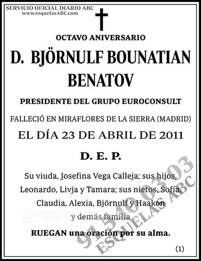 Björnulf Bounatian Benatov