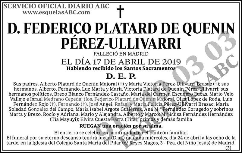 Federico Platard de Quenin Pérez-Ullivarri