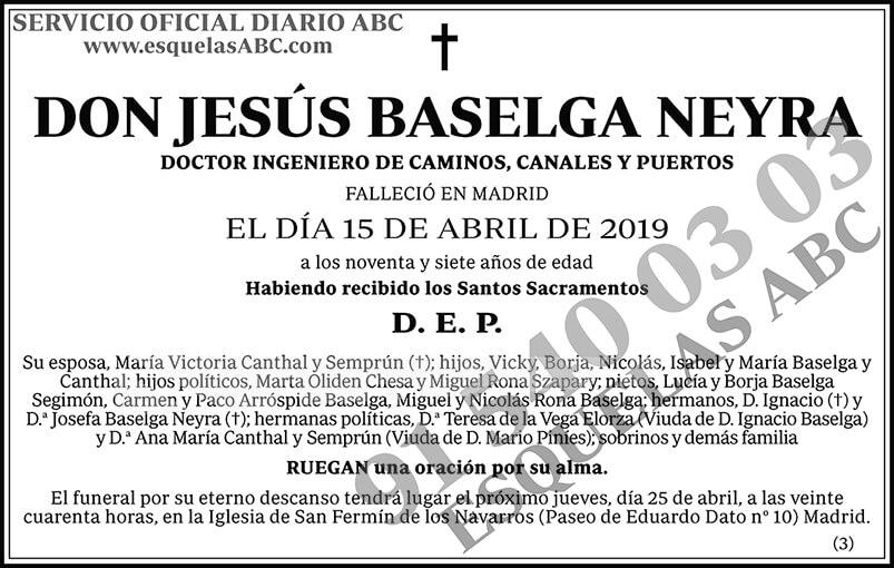 Jesús Baselga Neyra