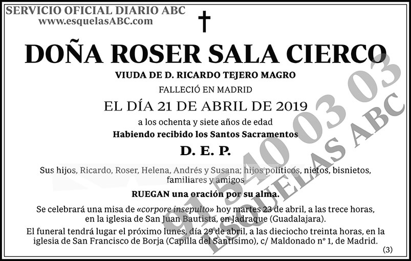 Roser Sala Cierco