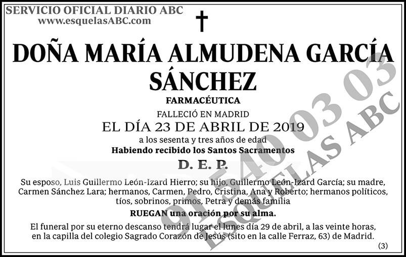 María Almudena García Sánchez