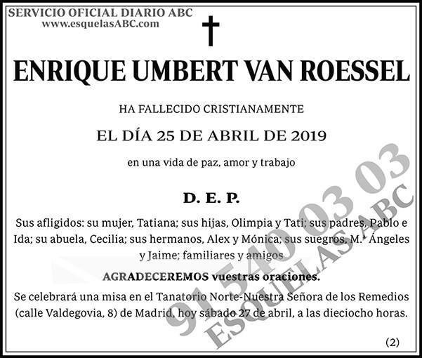 Enrique Umbert Van Roessel