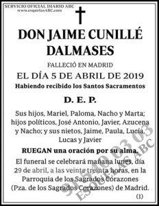 Jaime Cunillé Dalmases