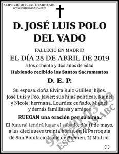José Luis Polo del Vado