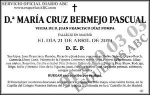 María Cruz Bermejo Pascual