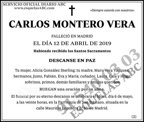 Carlos Montero Vera