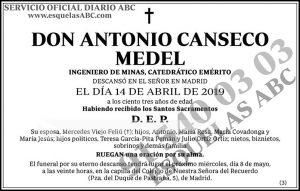 Antonio Canseco Medel