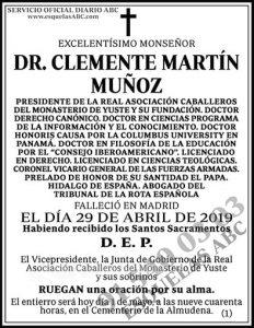 Clemente Martín Muñoz