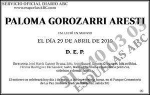 Paloma Gorozarri Aresti