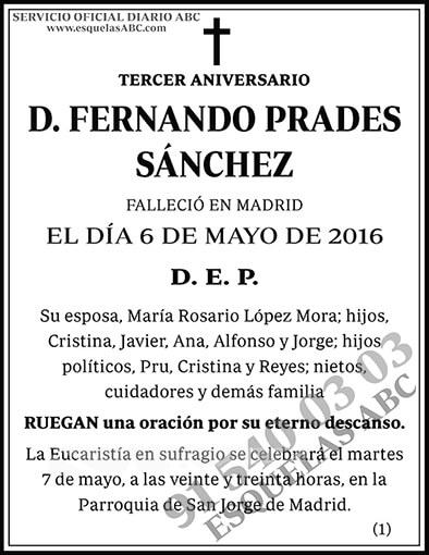 Fernando Prades Sánchez