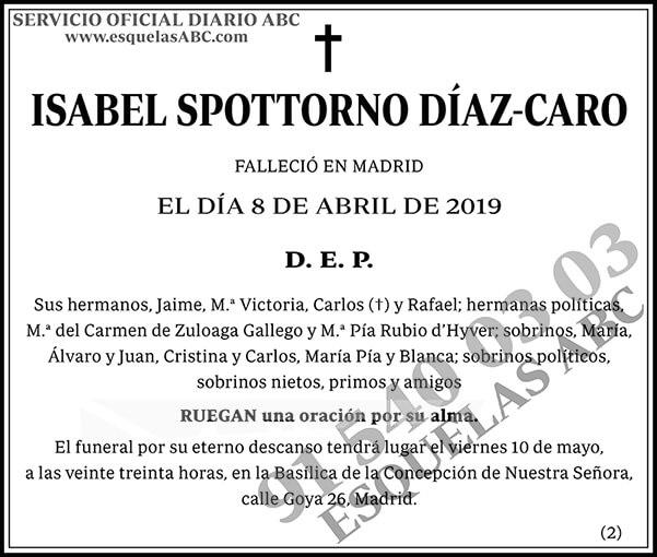 Isabel Spottorno Díaz-Caro