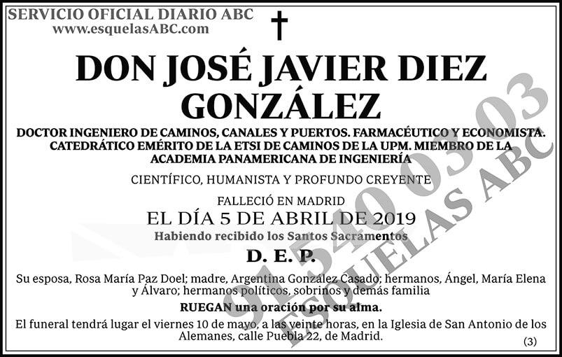 José Javier Diez González