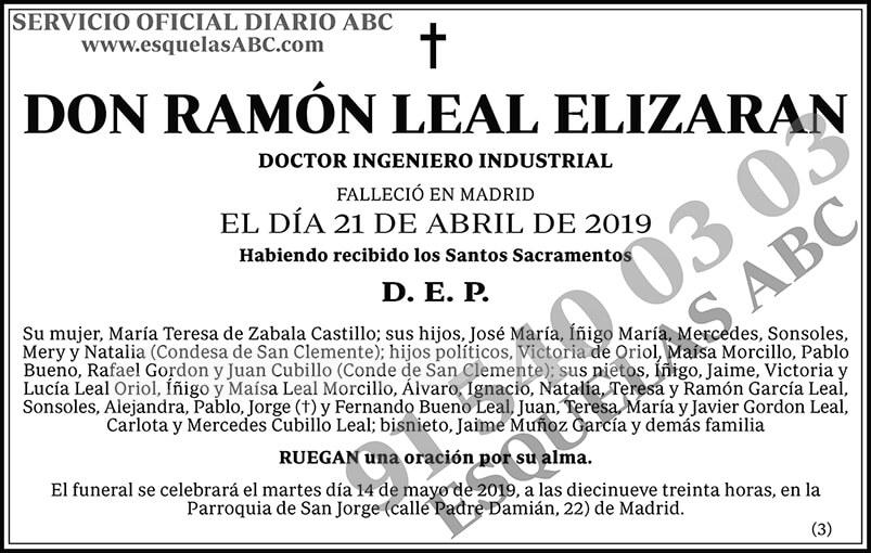 Ramón Leal Elizaran