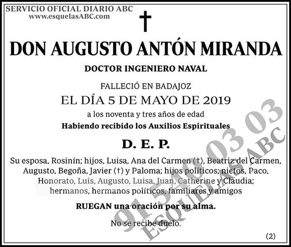 Augusto Antón Miranda