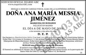 Ana María Messia Jiménez