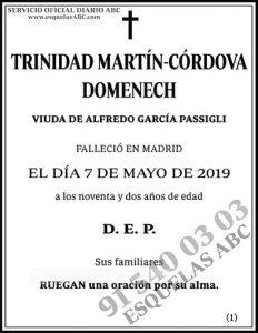 Trinidad Martín-Córdova Domenech