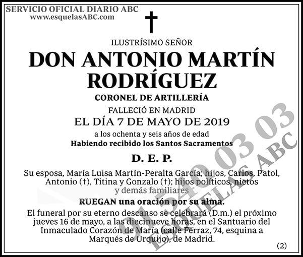 Antonio Martín Rodríguez