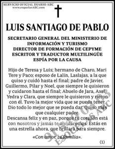 Luis Santiago de Pablo