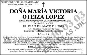 María Victoria Oteiza López