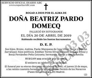 Beatriz Pardo Domecq