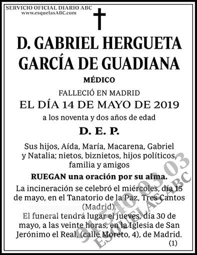 Gabriel Hergueta García de Guadiana