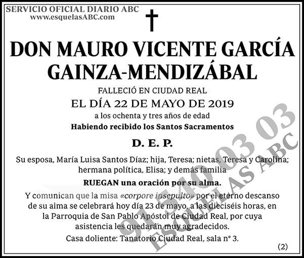 Mauro Vicente García Gainza-Mendizábal