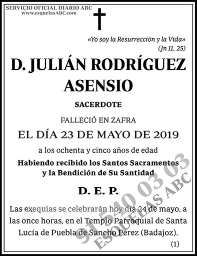 Julián Rodríguez Asensio