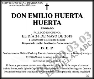 Emilio Huerto Huerta