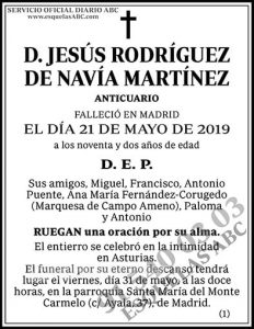 Jesús Rodríguez de Navía Martínez