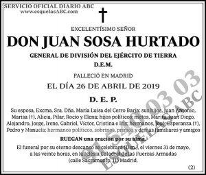 Juan Sosa Hurtado