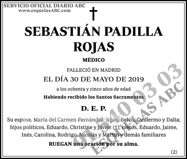 Sebastián Padilla Rojas