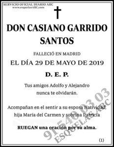 Casiano Garrido Santos
