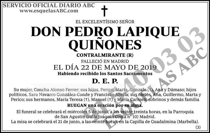 Pedro Lapique Quiñones