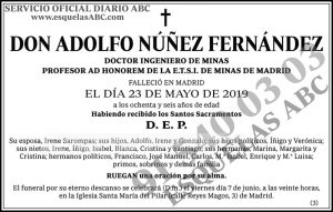 Adolfo Núñez Fernández