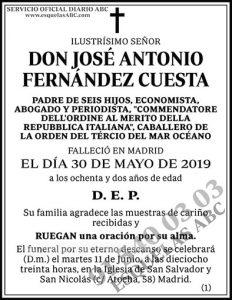 José Antonio Fernández Cuesta
