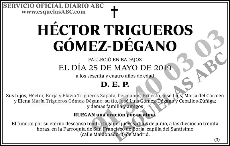 Héctor Trigueros Gómez-Dégano