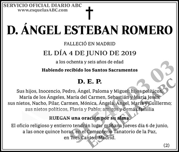 Ángel Esteban Romero