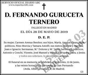 Fernando Guruceta Ternero
