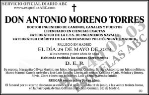 Antonio Moreno Torres