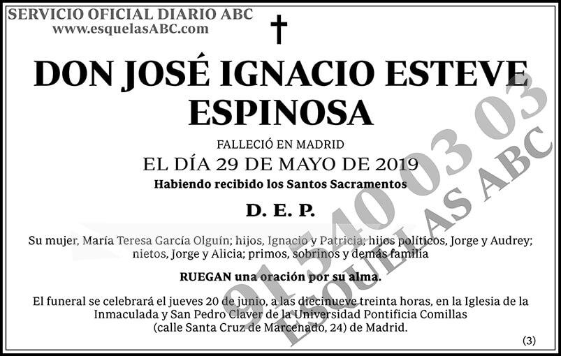 José Ignacio Esteve Espinosa