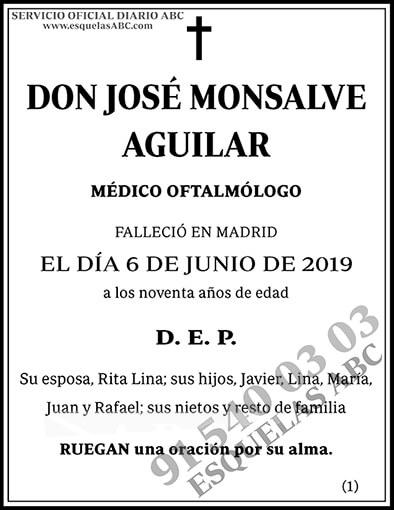 José Monsalve Aguilar