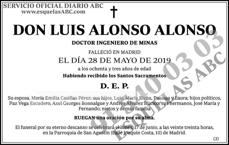 Luis Alonso Alonso