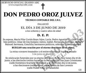 Pedro Oroz Julvez